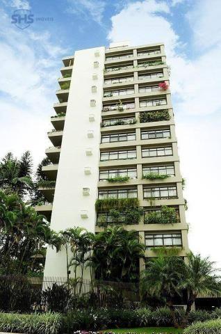 Apartamento com 3 dormitórios para alugar, 350 m² por r$ 4.700/mês - ponta aguda - blumena