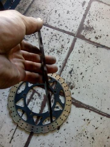 Disco de freio da ninjinha em ótimo estado - Foto 3