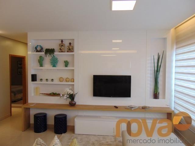 Apartamento à venda com 3 dormitórios em Residencial eldorado, Goiânia cod:NOV235562 - Foto 3
