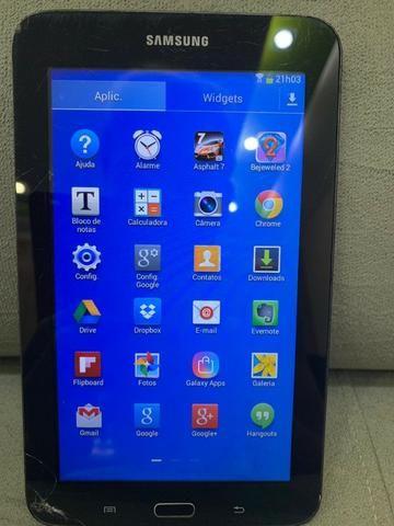 Samsung galáxia tab3 lite sm T-110 - 8g memoria semi novo, *17 - Foto 3