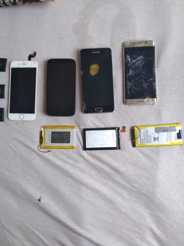 Películas de Vidro de iPhone, Baterias de iPhone, Celurares & Baterias - Foto 3