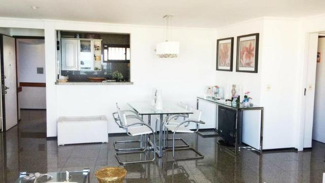 Flat ,Meireles, 1 suíte, 76,41 m² , 1 vaga, vista mar, nascente, área de lazer - Foto 5