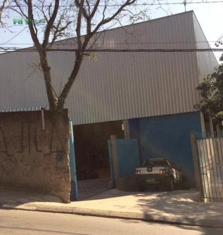 Galpão à venda, 1400 m² por r$ 2.200.000 - jardim tomé - embu das artes/sp