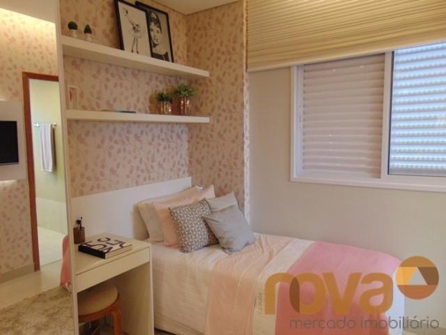 Apartamento à venda com 3 dormitórios em Residencial eldorado, Goiânia cod:NOV235562 - Foto 10