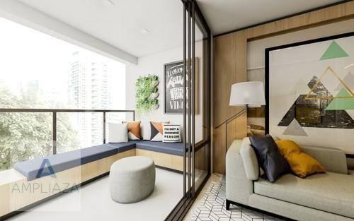 Apartamento com 2 dormitórios à venda, 37 m² por r$ 321.000 - aldeota - fortaleza/ce - Foto 12