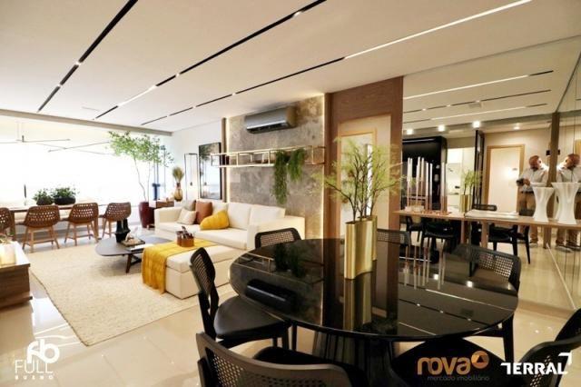 Apartamento à venda com 3 dormitórios em Setor bueno, Goiânia cod:NOV235717 - Foto 12