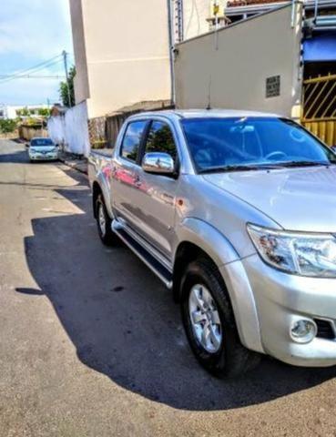 Camionete Toyota Hilux 2.7 cd srv 2012 automatica - Foto 5