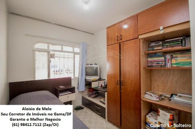 Aloisio Melo Vde: Q. 33 S/Leste, 2 Casas; Sala, Cozinha, 3 Qtos, Ac. Financiamento/FGTS - Foto 8