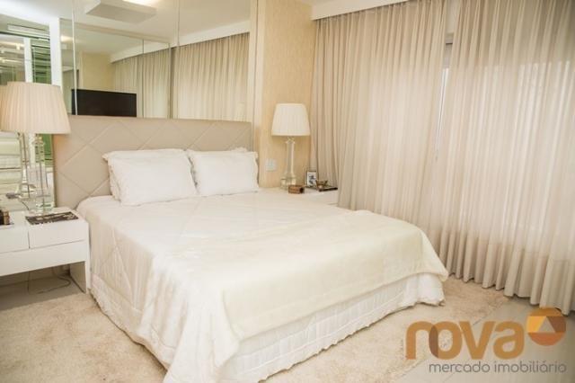 Apartamento à venda com 3 dormitórios em Setor bueno, Goiânia cod:NOV235442 - Foto 15