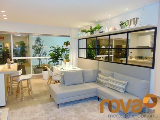 Apartamento à venda com 3 dormitórios em Setor bueno, Goiânia cod:NOV235464