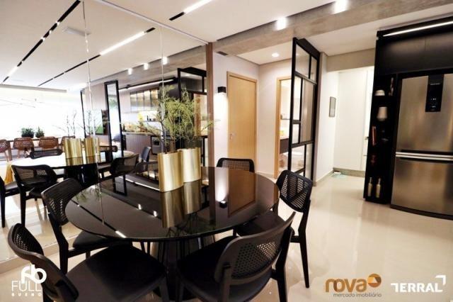 Apartamento à venda com 3 dormitórios em Setor bueno, Goiânia cod:NOV235717 - Foto 14