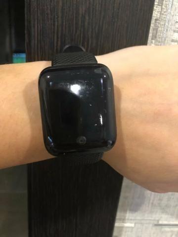 Mega promoção relógio inteligente com monitor cardíaco e pressão arterial - Foto 2
