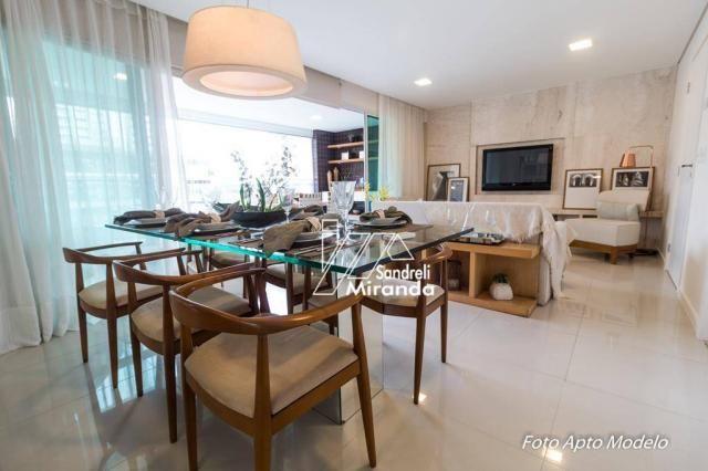 Imperator apartamento com 3 dormitórios à venda, 138 m² por r$ 950.000 - guararapes - fort - Foto 2