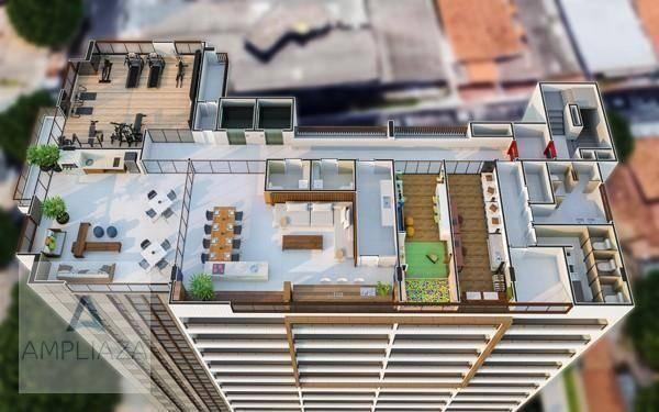 Apartamento com 2 dormitórios à venda, 37 m² por r$ 321.000 - aldeota - fortaleza/ce - Foto 5