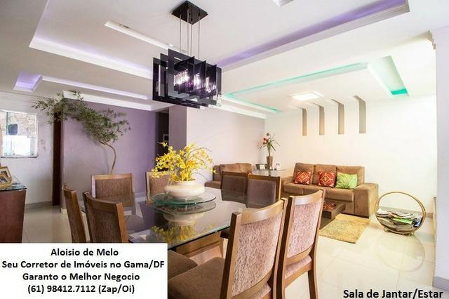 Aloisio Melo Vde: Q. 01 S/Leste! Sobrado, 2 Casas c/3 Quartos, Aceita Financ./FGTS - Foto 4