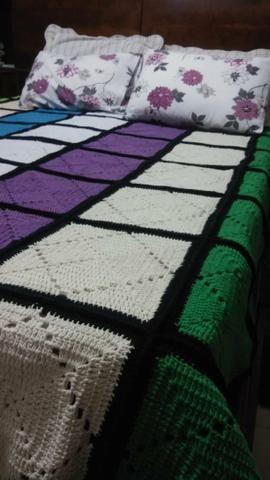 Colcha de crochê - Foto 2