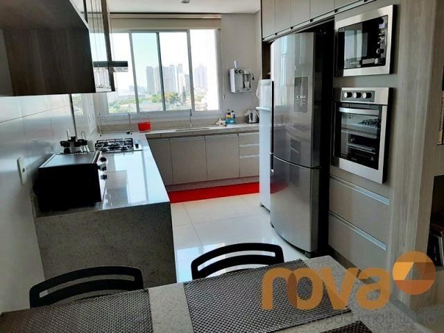 Apartamento à venda com 3 dormitórios em Setor bueno, Goiânia cod:NOV235705 - Foto 12