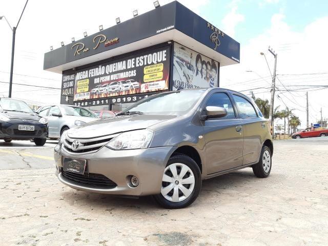 Toyota Etios XS 1.5 Automático 16/17 - Troco e Financio!!