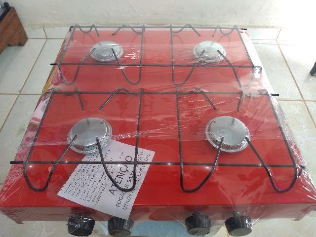 Fogao de mesa 4 bocas - Foto 6