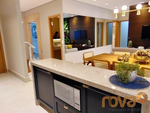 Apartamento à venda com 3 dormitórios em Setor marista, Goiânia cod:NOV235626 - Foto 8