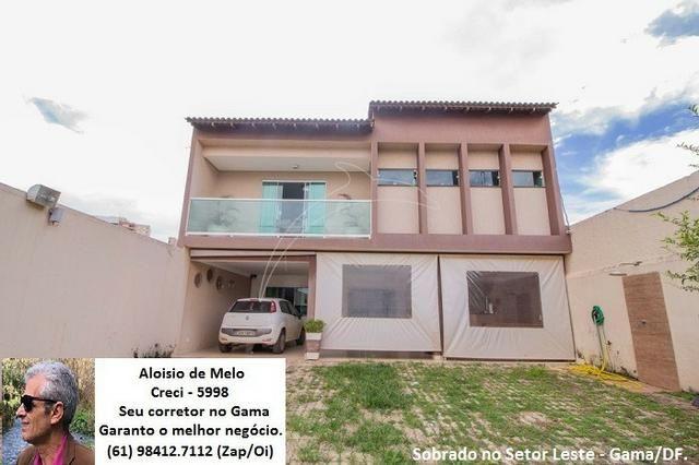 Aloisio Melo Vde: Q. 01 S/Leste! Sobrado, 2 Casas c/3 Quartos, Aceita Financ./FGTS