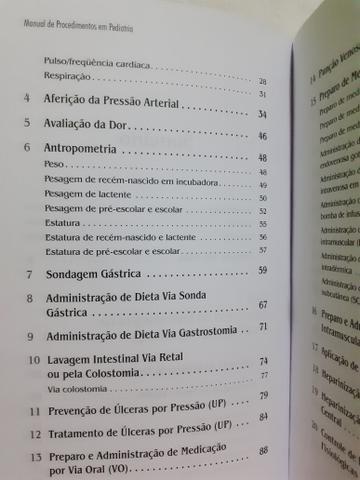 Manual de Procedimentos em Pediatria - Foto 3