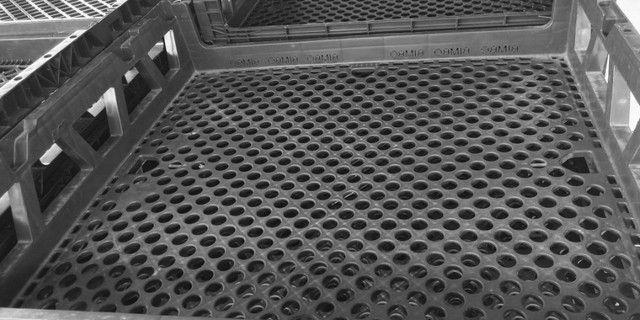 Grade caixa Cesto empilhável para pães de fôrma ou outras utilidades - Foto 4