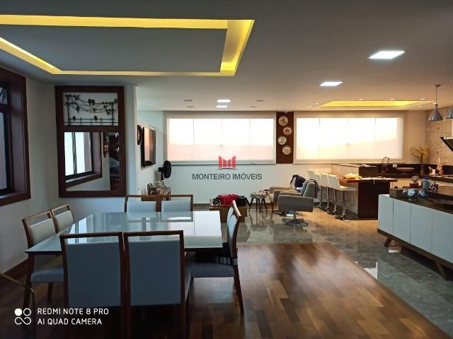 Exclusiva Casa moderna com 4 quartos sendo 3 suítes no Condomínio Alphaville Vespasiano - Foto 6