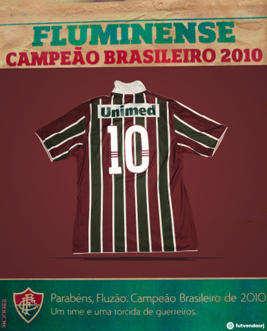 Camisa original Fluminense 2010