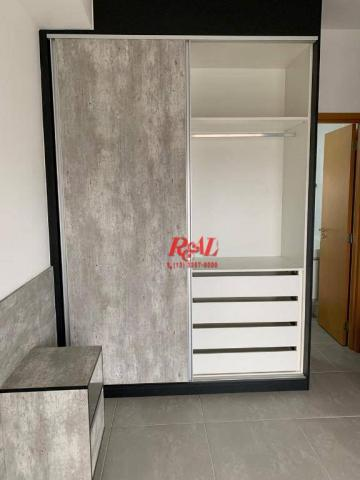 Apartamento com 2 dormitórios (1 suíte) à venda e locação, 72 m² - Gonzaga - Santos/SP - Foto 15