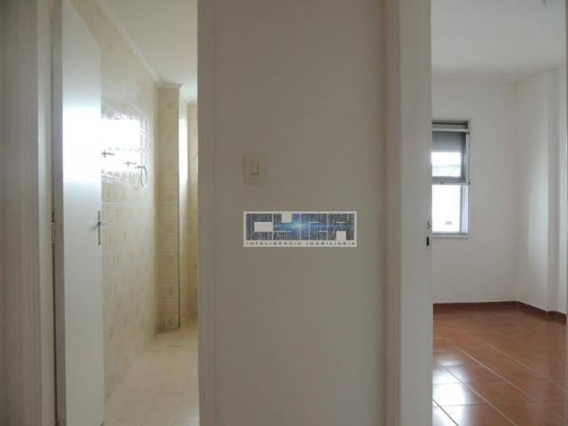 Apartamento AMPLO com 2 dormitórios e dependência em Santos - Foto 10