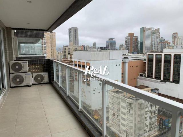 Apartamento com 2 dormitórios (1 suíte) à venda e locação, 72 m² - Gonzaga - Santos/SP - Foto 6