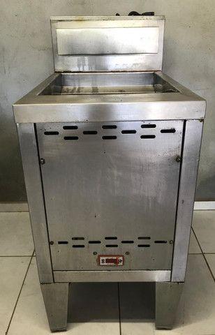 Fritadeira Venâncio 70 litros, tipo Indústrial, Água e Óleo