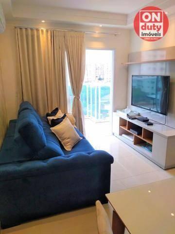 Apartamento Garden com 2 dormitórios à venda, 70 m² por R$ 475.000,00 - Aparecida - Santos - Foto 3
