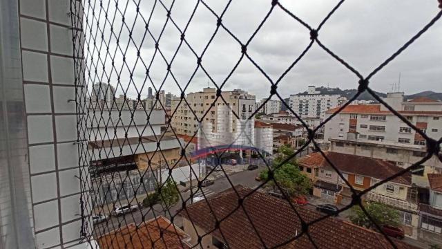 Apartamento com 2 dormitórios à venda, 74 m² por R$ 350.000,00 - Campo Grande - Santos/SP - Foto 6