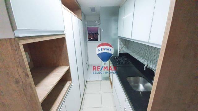 Apartamento com 3 dormitórios para alugar, 72 m² por R$ 1.595,94/ano - Neópolis - Natal/RN - Foto 13