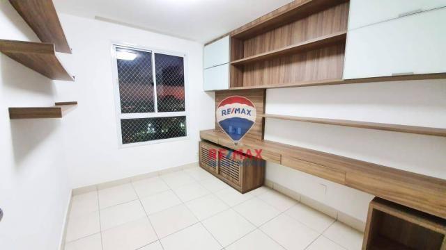 Apartamento com 3 dormitórios para alugar, 72 m² por R$ 1.595,94/ano - Neópolis - Natal/RN - Foto 7