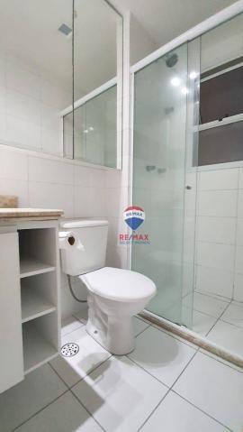 Apartamento com 3 dormitórios para alugar, 72 m² por R$ 1.595,94/ano - Neópolis - Natal/RN - Foto 12