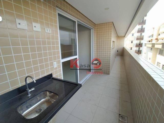 Apartamento 2 dormitórios, 1 suíte, sacada gourmet - San Bernardino Santos - Foto 5