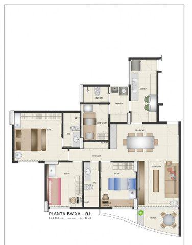 Apartamento a venda em Boa Viagem com 3 Quartos 2 vagas de garagem e lazer completo - Foto 15