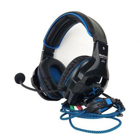 Headphone gamer com led exbom