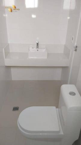 ED ROYAL PRESIDENT - Apartamento com 4 dormitórios à venda, 237 m² por R$ - Bosque - Cuiab - Foto 4