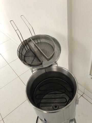 Fritadeira agua e oleo 220 volts com cesto duplo - Foto 3
