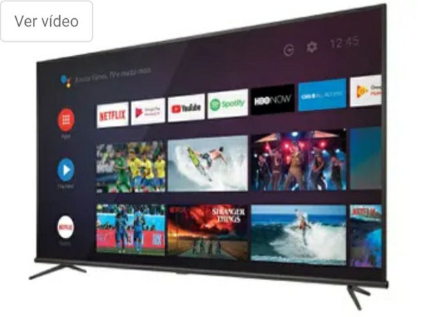 Smart TV 4K LED 50 SEMP TCL 50P8M Android Wi-Fi - - Foto 6