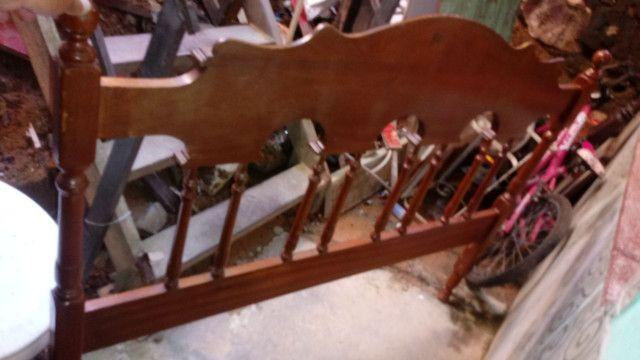 Cabeceira de cama antiga - Foto 6