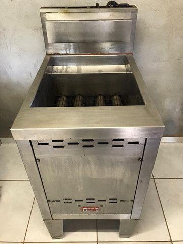 Fritadeira Venâncio 70 litros, tipo Indústrial, Água e Óleo - Foto 3