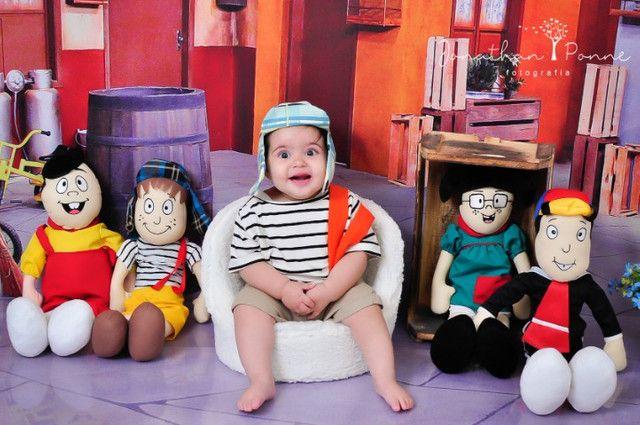 Bonecos Pelúcia Turma do Chaves