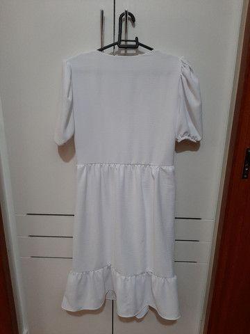Vestido branco nunca usado. - Foto 2