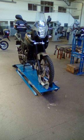 Elevador de motos de  fabrica 350 kg - zap 24horas deixe seu número  - Foto 6