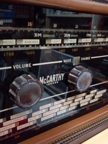 Vitrola Vintage Inglesa Maccarthy, anos 50-60 - Foto 3